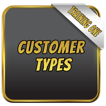Customer Types Button